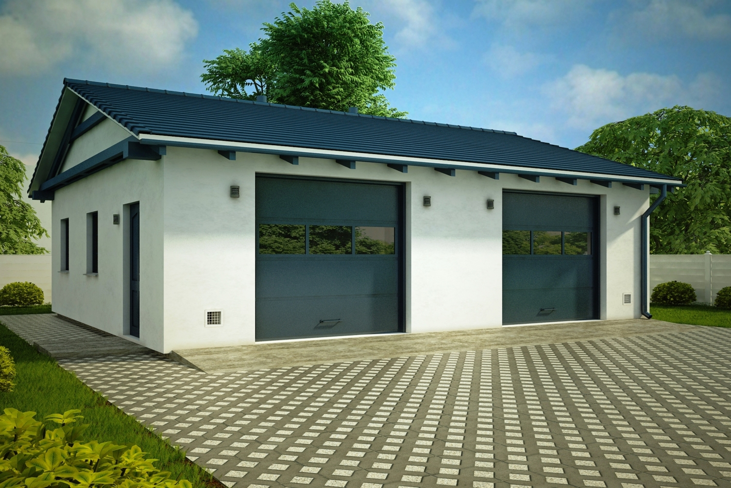 Строительство гаражей под ключ в Ялте